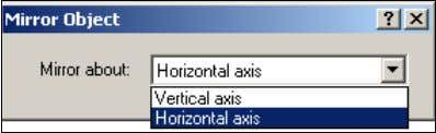 "– ""Horizontal axis"" or ""Vertical axis"". Move the cursor so that it is close to a"
