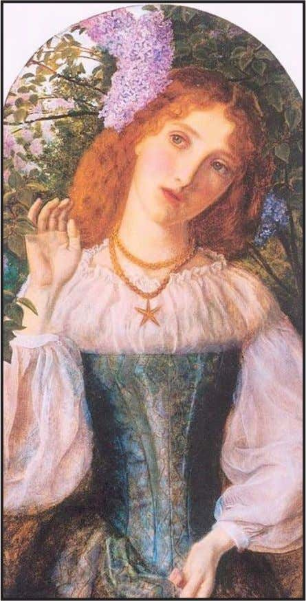 Fig. 05 – The lady with the Lilacs, de Arthur Hughes, pintura a oleo, 1863