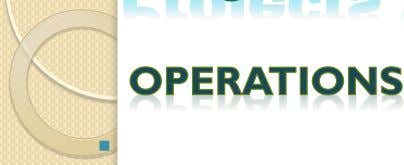  Operations are an organizational function performing the ongoing execution of activities that produce the same
