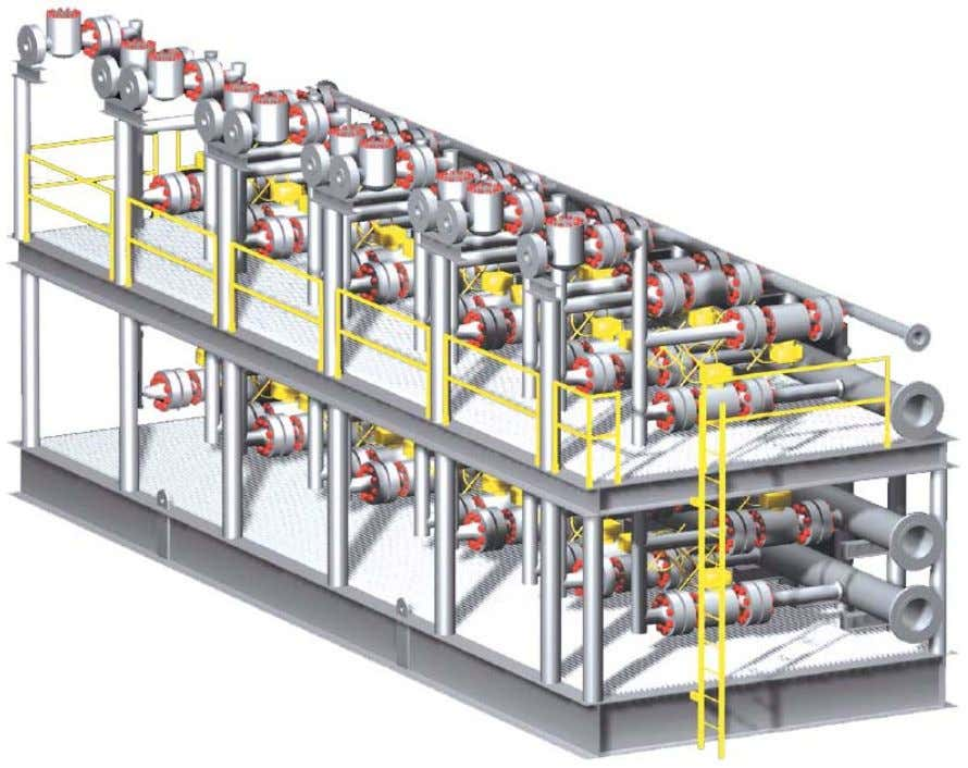 Manifolds Manifolds G EOPET Introduction to Pr oduction Technology Subsea manifolds 2.2. Production Facilities 70