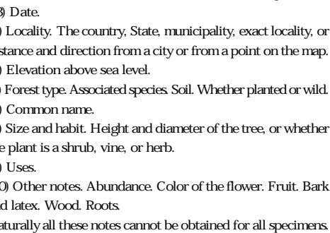( 3) Date. (4) Locality. The country, State, municipality, exact locality, or distance and direction