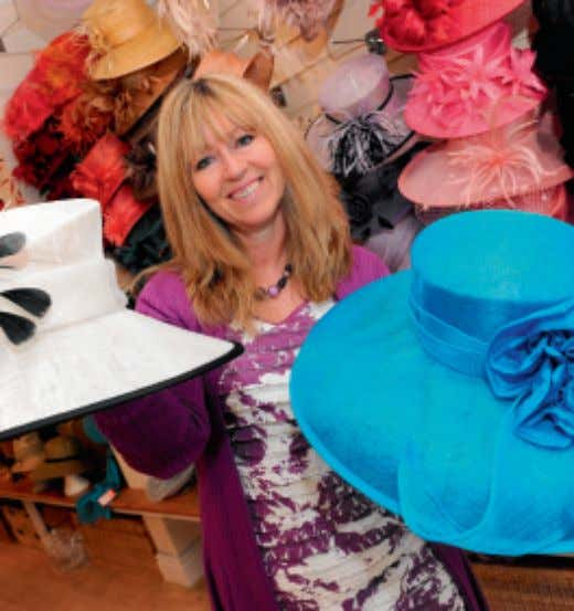 "H AT S Annabel Anderson, of Beverley Hat Company, Lairgate, Beverley ""I think having a milliners"