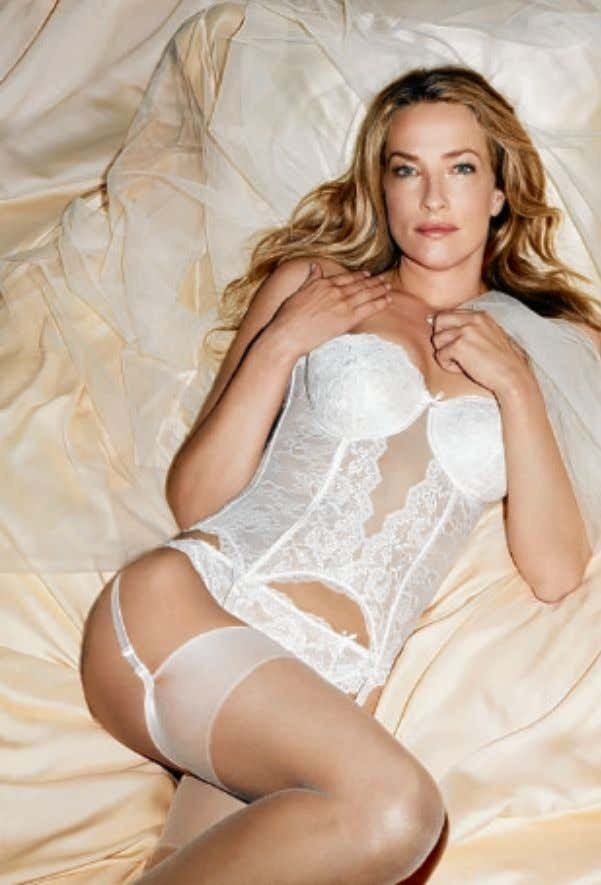 can slim, enhance cur ves and make you feel great, too Bridal underwear from Chantelle Lingerie