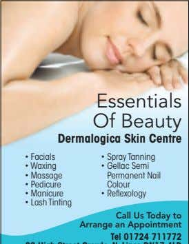 Essentials Of Beauty Dermalogica Skin Centre • Facials • Spray Tanning • Waxing • Gellac