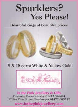 Sparklers? Yes Please! Beautiful rings at beautiful prices 9&18 carot White & Yellow Gold In