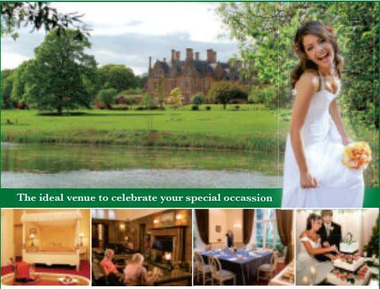 The ideal venue to celebrate your special occassssionion