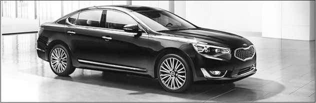 seat, heated seats for all passengers, a heated steering The Kia Cadenza should be in the