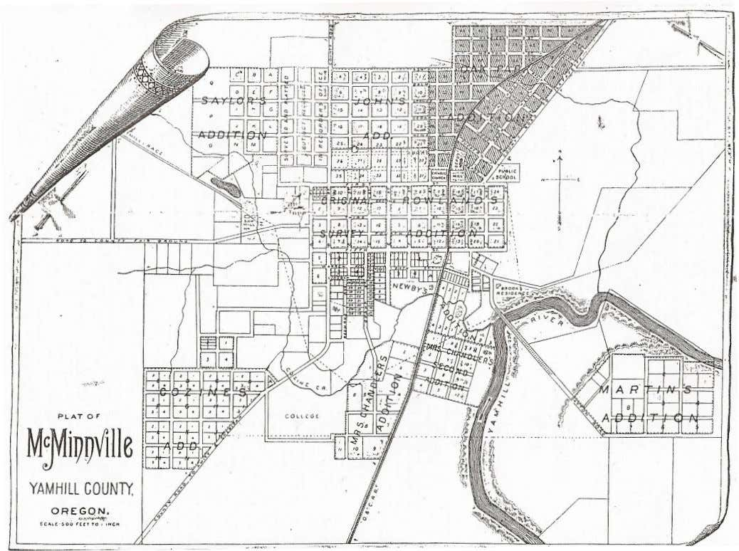 and Economic Climate of McMinnville, Oregon from 1895-1910 Researched and Compiled by Brian Richardson A collaborative
