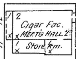 and advertisements from The Yamhill County Reporter. ! ! A McMinnville Cigar Factory as it appears
