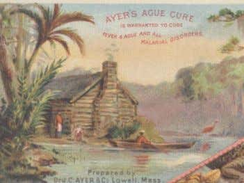 """Warners Safe Diabetes Remedy"" found in McMinnville. Ayer's Ague Cure Ague is another term for Malaria,"