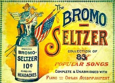 Below are two bottles found in the McMinnville area. Bromo Seltzer The most popular of American