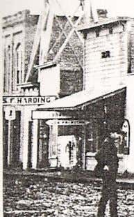 shop can be seen in this 1890's photograph of Davis street C.C Murton ! Clarence Murton