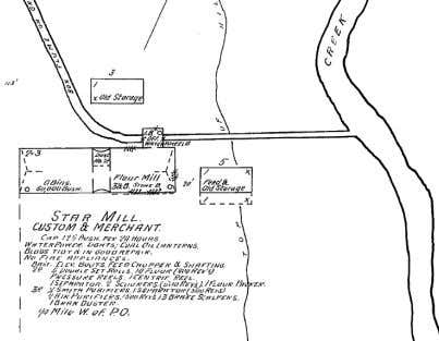 into consideration those who resided within city limits. ! Above: The Star Mill as it appears