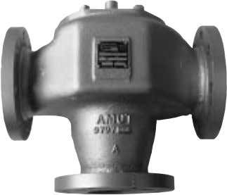 ■ TEMPERATURE MIXING OR DIVERTING Thermostatic Valve AMOT Model H Thermostatic Valves are fully automatic, 3-