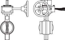"2"" Butterfly Valve Refer to page C-2 for 2"" Valve Part Number and Pricing Information"