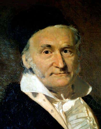 3 INSPIRATION, PURE AND APPLIED MATHEMATICS, AND AESTHETICS Carl Friedrich Gauss , known as the prince