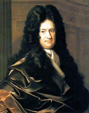 5 Isaac Newton (left) and Gottfried Wilhelm Leibniz (right), developers of infinitesimal calculus Mathematics arises