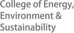 degree with at least a 3.0 grade point average. College of Energy, Environment and Sustainability