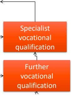 Specialist vocational qualification Further vocational qualification