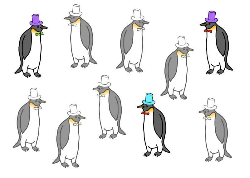 Inference: A Primer 82 Sample of 3 Penguins from Population The key point is that you