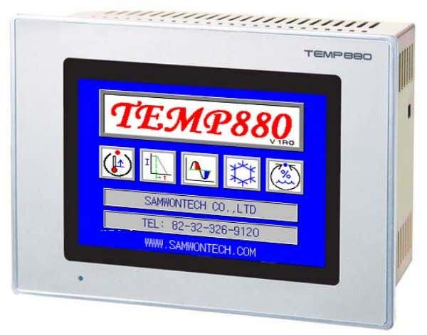 TEMP880 - Color type TEMP850 - Mono type INSTRUCTION MANUAL TEMPERATURE PROGRAMMBALE CONTROLLER