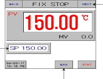 FIX STOP SCREEN Figure 2-14. Fix Stop (Standard) ○ 1 ○ 3 ○ 2 Figure 2-16
