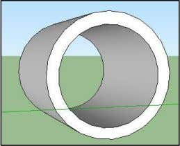 circle in instead of pulling it out. You created a pipe. Change the perspective and see