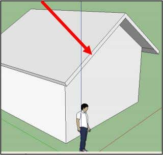 to expand the roof. (Don't forge t the overhand in back) 9. There are a couple
