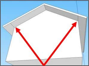 of the roof to find the lines. Are there any others? 10. Let's shingle the roof!