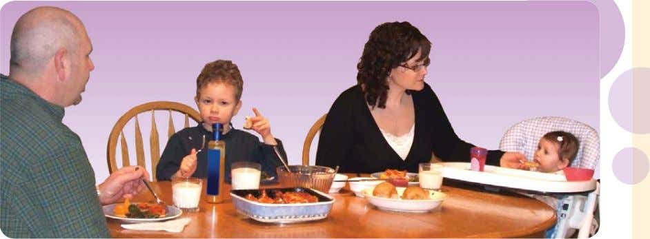 Baby wants to be just like you. Be a healthy role model. A healthy feeding relationship