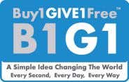 B1G1 - Thavibu Gallery has partnered with Buy 1 Give 1 Free, which implies that