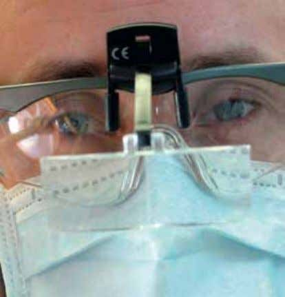08 Face visors can pre- vent contamination of the eyes. The employer should also provide staff