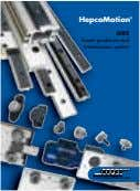 HepcoMotion ® GV3 linear guidance and transmission system