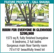 feature property - call shauna room for everyone in glenWood $299,900 1573 sq.ft, fully finished