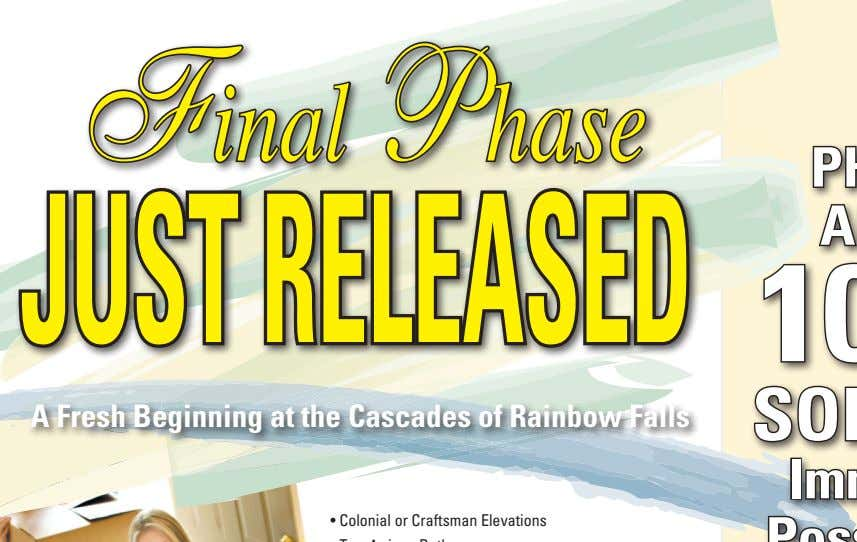 Final Phase just released a Fresh beginning at the Cascades of rainbow Falls • Colonial