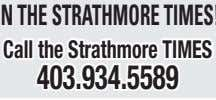 Call the Strathmore TimeS 403.934.5589