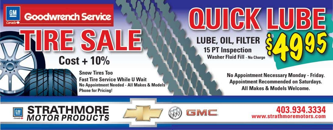 qUiCk lUbe Tire sale lUbe, Oil, FilTer $49 95 15 PT inspection Washer Fluid Fill