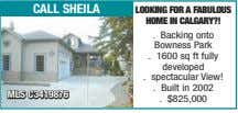 call sheila looKing for a faBUloUS home in Calgary?! . Backing onto Bowness Park .