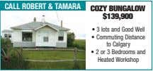 call robert & taMara Cozy BUngalow $139,900 • 3 lots and Good Well • Commuting