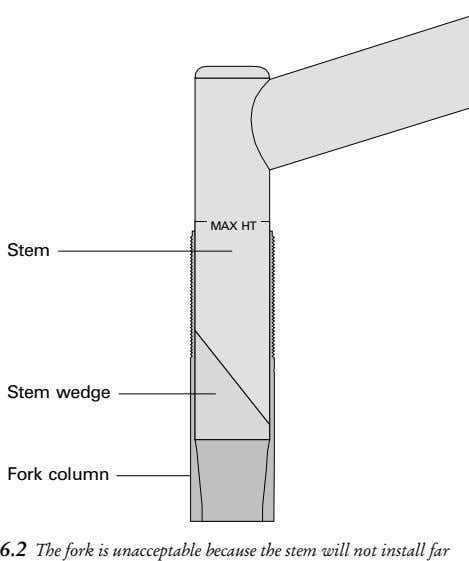 MAX HT Stem Stem wedge Fork column