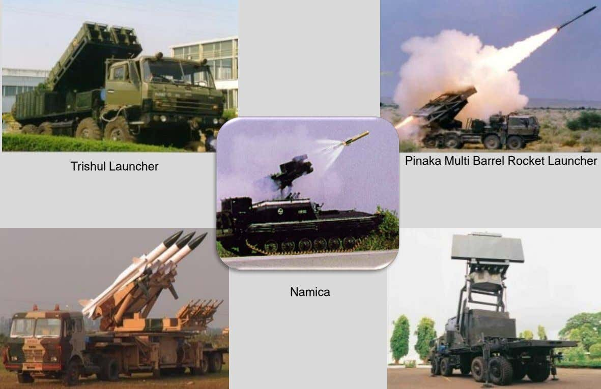Pinaka Multi Barrel Rocket Launcher Trishul Launcher 012 Larsen & Toubro Limited : All rights