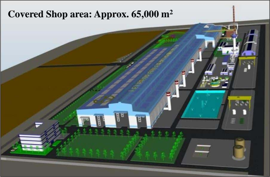 Covered Shop area: Approx. 65,000 m 2 012 Larsen & Toubro Limited : All rights