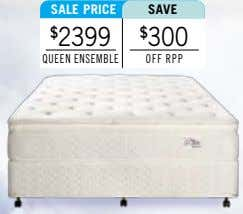 sALe PrICe sAve $ 2399 $ 300 queen enSeMble off rPP