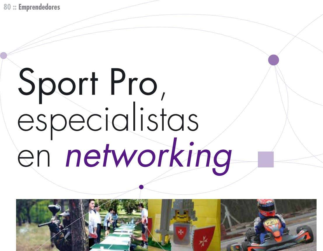 80 :: Emprendedores Sport Pro, especialistas en networking