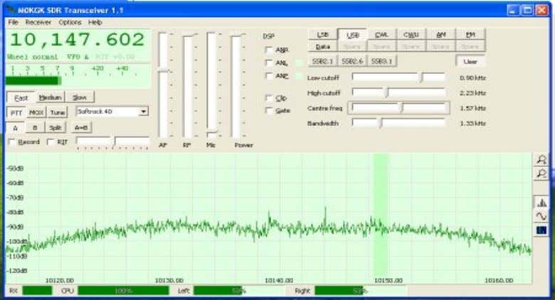 so we recommend that users start with SDR-Radio or Rocky 3.6 to gain experience before attempting