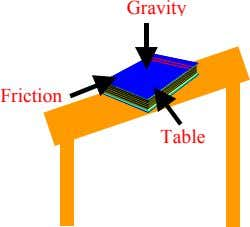 Gravity Friction Table