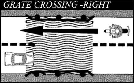 GRATE CROSSING -RIGHT