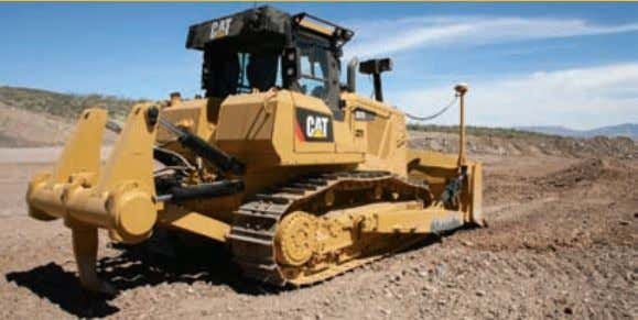Work Tools Designed for performance and versatility. Dozer Blades The D7E features a robust, single lift