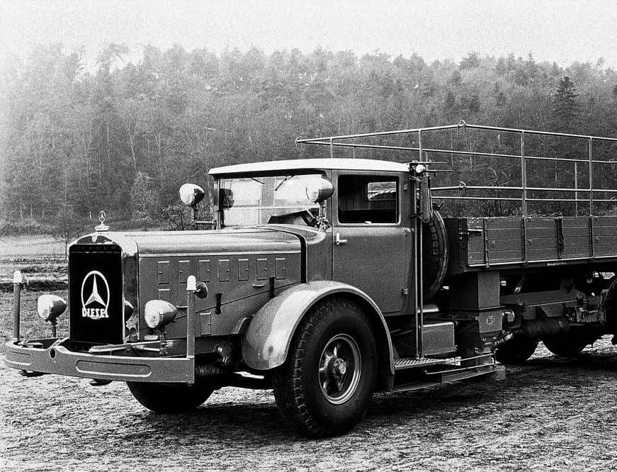 From the Mercedes-Benz LK to the new Arocs More than 110 years of construction sector experience