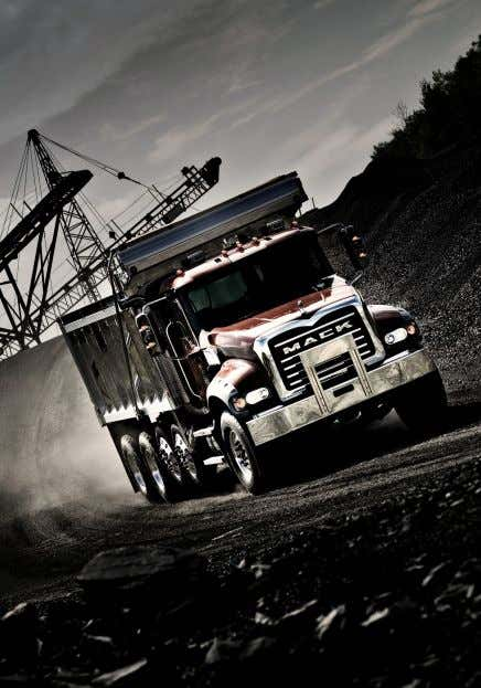 MACK SIMUM LOYOLTY Bryce Baird The company have had most of the range of Mack conventionals